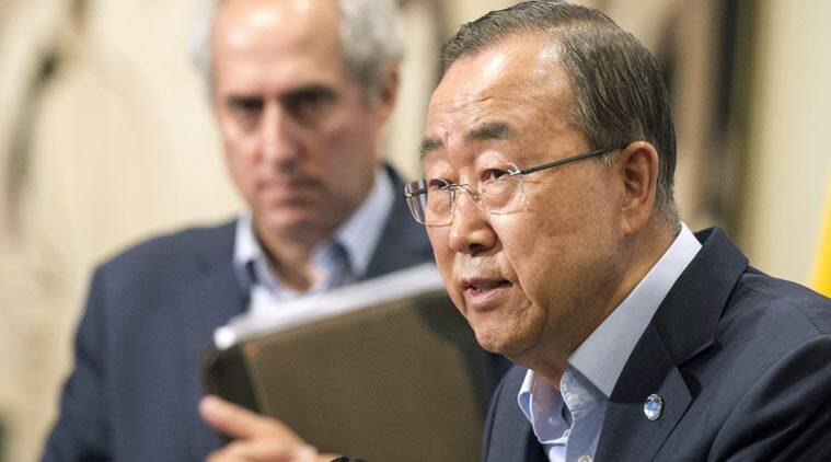 United Nations Secretary General Ban Ki-moon  (AP Photo)