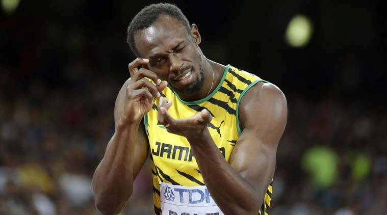 Usain Bolt Beats Justin Gatlin But Gets Knocked Over By Cameraman