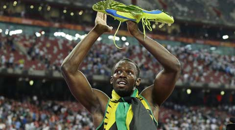 Usain Bolt, Beijing World Championships, Runner Usain Bolt, Justin Gatlin, Sports