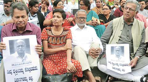 Former Karnatak University vice-chancellor M M Kalaburgi, who had run-ins with hardliners, shot