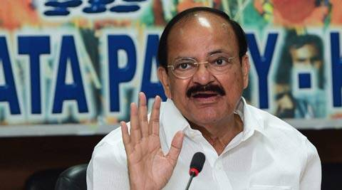 Congress 'really rattled' by performance of Modi government: Venkaiah Naidu