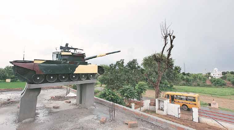 Asal Uttar, memorial, 1965 war memorial, Tarn Taran district, indo-pak 1965 war, Armoured Division, Battle of Asal Uttar, Indian Army, Battle of Haji Pir, Battle of Dograi, indian wars, indian news, news, sunday big picture