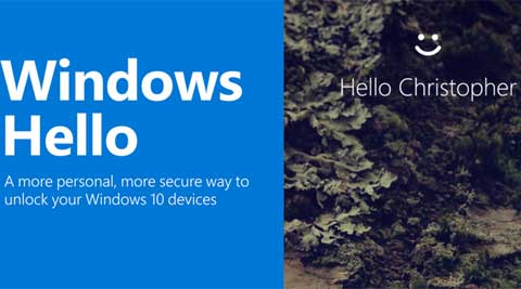 Microsoft has with Windows 10 launched Hello with recognises the face of the user and logs him in.