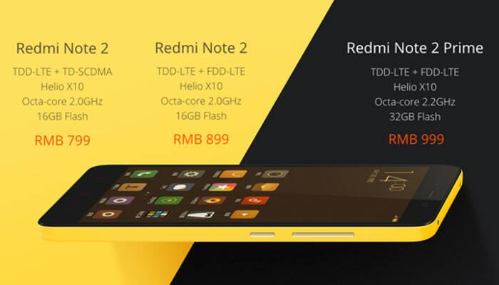 Xiaomi Redmi Note 2 d