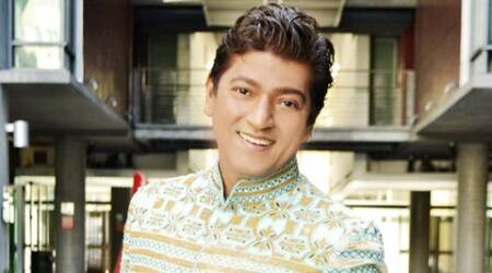 Prayer meet for Aadesh Shrivastava at ISKCON temple