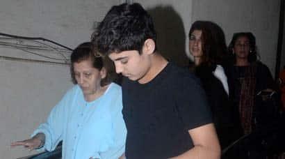 Aarav, Twinkle Khanna, Akshay Kumar, Akshay Twinkle Aarav, Aruna Bhatia, Dimple Kapadia, Aarav grandmother photos, Aarav Kumar photos