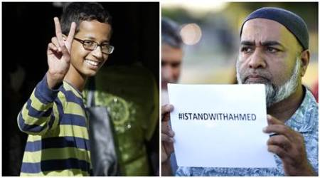 Ahmed Mohamed meets father's rival Sudanese President Omaral-Bashir