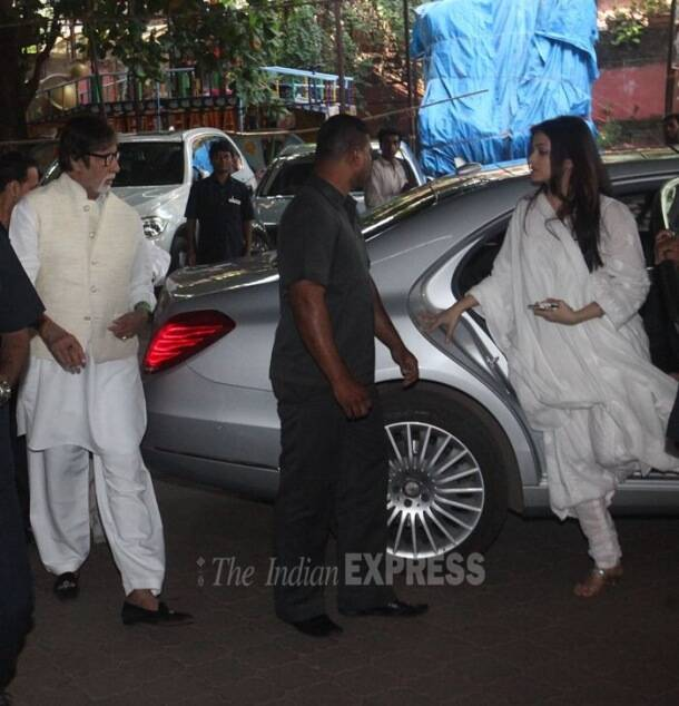 aadesh shrivastava prayer meet, aadesh shrivastava, aadesh shrivastava death, aadesh shrivastava pictures, vijeta pandit, amitabh bachchan, aishwarya rai bachchan, amitabh bachchan aadesh shrivastava, aishwarya, aishwarya rai bachchan aadesh Shrivastava, madhuri dixit, juhi chawla, aadesh shrivastava wife, vijeta pandit, aadesh shrivastava kids, aadesh shrivastava prayer meet pics, entertainment, bollywood