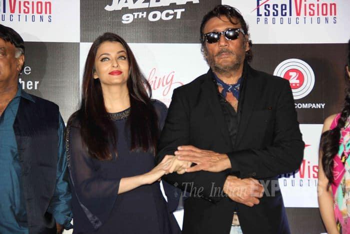 Aishwarya Rai, Jackie Shroff