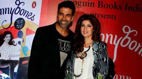 Akshay wants me to be like 'Mrs. Funnybones': Twinkle Khanna