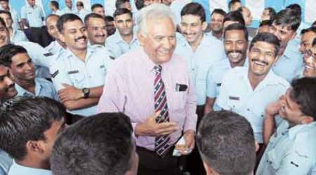 A 1965 Vir Chakra fighter pilot returns home from Australia