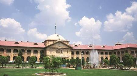 Allahabad High Court Building *** Local Caption *** Allahabad High Court Building. Express Archive photo