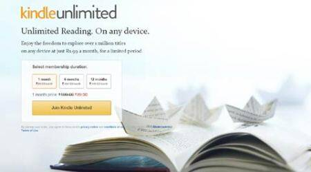Amazon bring Kindle Unlimited service to India, starts at Rs 199