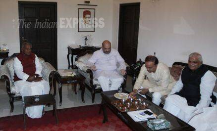 PHOTOS: BJP finalises seat-sharing deal with allies for ...