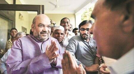State leaders irked as Amit Shah will visit Deoria to pay homage to MP's father who 'opposed'BJP