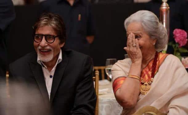 Amitabh Bachchan, Waheeda Rehman