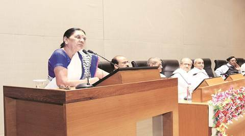 Anandiben patel, CM Anandiben Patel, ,memo to CM, men detained, arrest, ahmedabad news, indian express