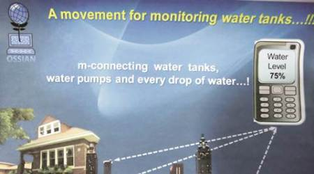Pune couple come up with M-solutions to check water levels