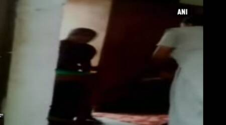 Ghaziabad: Video shows cop, woman home guard 'beating up' suspect