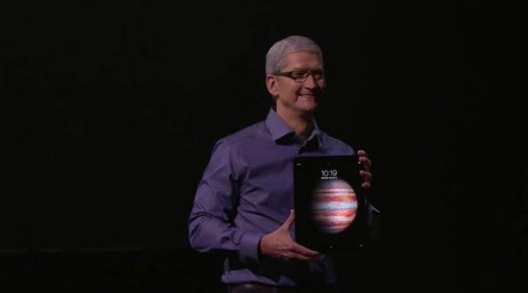 The Apple iPad Pro is the largest iPad ever