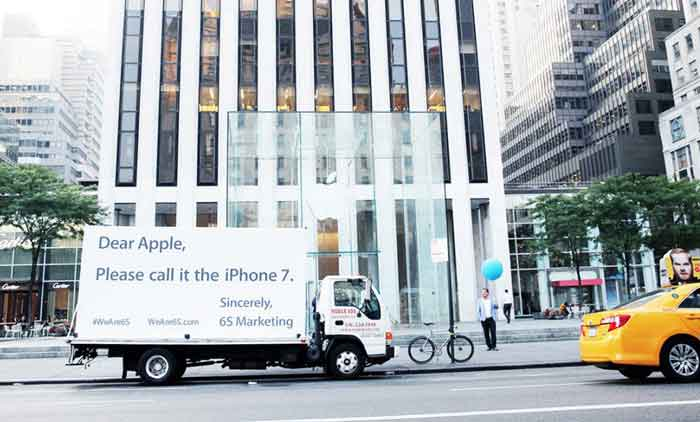 For one firm, the Apple iPhone 6S does spell good news. (Source: 6S marketing blog)