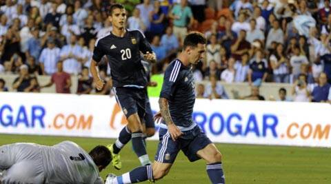 Argentina thump Bolivia 7-0 in friendly