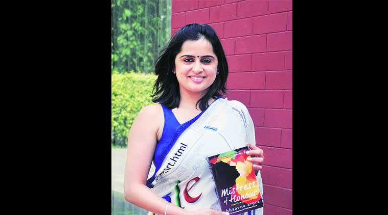 Bhaavna Arora , Corporate trainer-turned-writer Bhaavna Arora, fauji stories, Bhaavna Arora book, Bhaavna Arora  book Mistress of Honour,, chandigarh news, indian express
