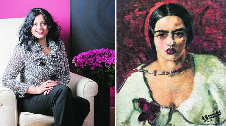 Priyanka Mathew; Amrita Sher-Gil's Untitled Self Portrait was auctioned for  million