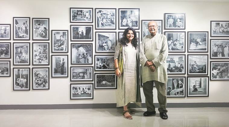 artist, Jyotu Bhatt, Manisha Gera Baswani, documnetalists, photography, photographing artist, indian express
