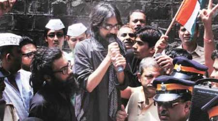 Aseem Trivedi, Aseem Trivedi sedition charges, Maharashtra government, sedition charges, sedition charges Section 124A, Indian Penal Code, Congress, NCP, Sedition charges, Bombay High Court, Cong-NCP govt guidelines, Mumbai news