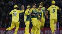 Australia go 1-0 up after all-round show in opener