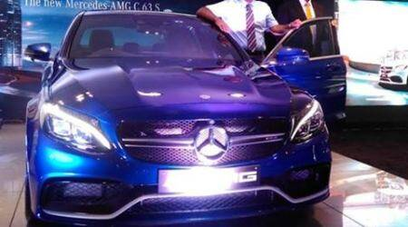 Mercedes-Benz C 63 AMG S in India at Rs. 1.30 crore