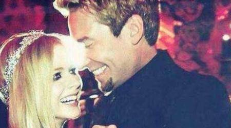Avril Lavigne, husband Chad Kroegersplit