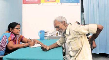 In 'model village' health centre, midwife stands in for doctor