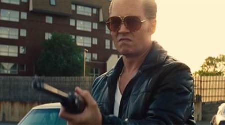 black mass, black mass movie, black mass review, black mass movie review, black mass cast, black mass collections, black mass critics, black mass cast, black mass johnny depp, Johnny Depp, Joel Edgerton, Benedict Cumerbatch, Kevin Bacon, Corey Stoll, Peter Saarsgard, Rory Cochrane, Scott Cooper
