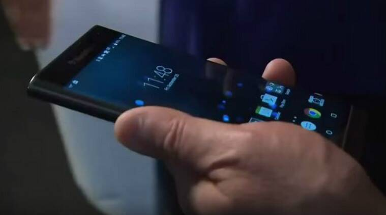 BlackBerry CEO John Chen gives a hands-on demo of company's first Android smartphone