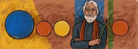 Google celebrates MF Husain's 100th birth anniversary with abstract doodle