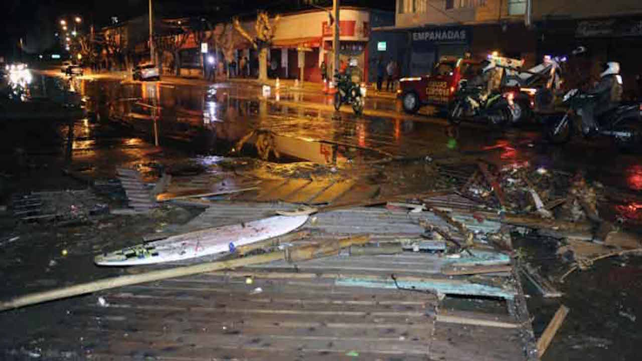 8.3 Magnitude Earthquake Hits Chile, Tsunami Warning Issued