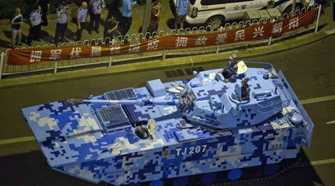 indianexpress.com: China's battle tanks unmatched in Asia: Chinese media