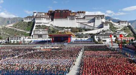 Buddhist Monks, Digree in Buddhism, Exan from digree in Buddhism, Lhasa, Tibetan Buddhism studies, general knowledge of Tibetan Buddhism, Ganden Monastery, Tibet branch of China Buddhist Association, latest news, World news, International news, China propoganda news