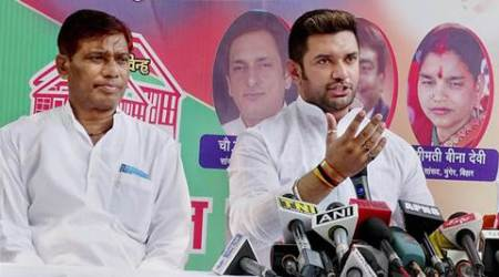 LJP supports R K Singh, says parties shouldn't give tickets to candidates with criminalbackground