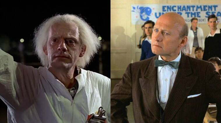 Christopher Lloyd, James Tolkan, Back to the Future