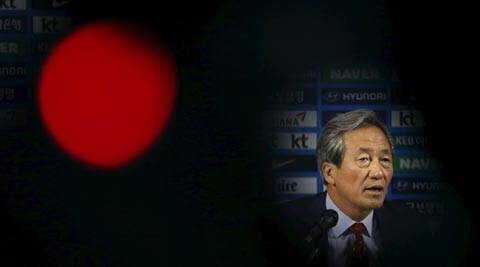Chung Mong-joon accuses AFC of 'undermining' FIFA election