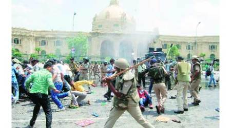 BPEd degree holders clash with cops, 17 injured, 102held