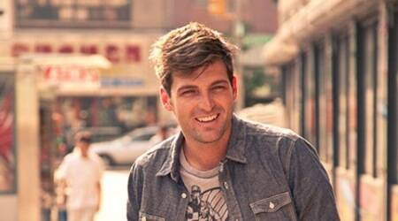 Founding member of Foster the People, Cubbie Fink leavesband