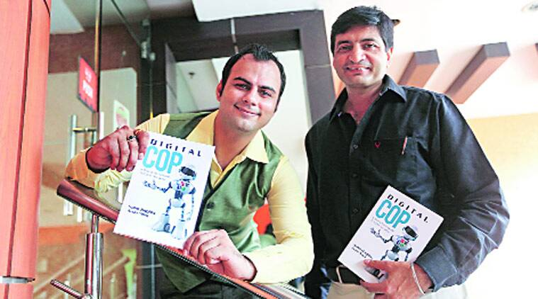 Chandigarh, chandigarh cyber crime, chandigarh cyber crime experts, cyber security experts book launch, Arun Soni, Sahil Baghla, Chandigarh latest news