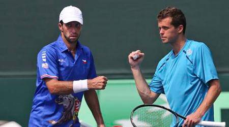 Today's win puts us in better position for tomorrow: Radek Stepanek