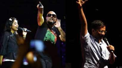 Vishal Dadlani, Shilpa Rao's rock concert with Delhi CM Arvind Kejriwal