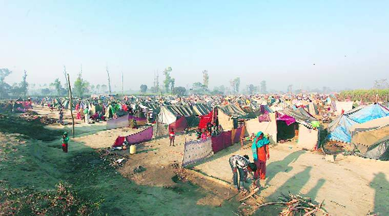 More than  60 people were killed and over 40,000 displaced in communal violence in Muzaffarnagar and adjoining areas in September, 2013.