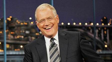 David Letterman heading to India for climate change TVseries